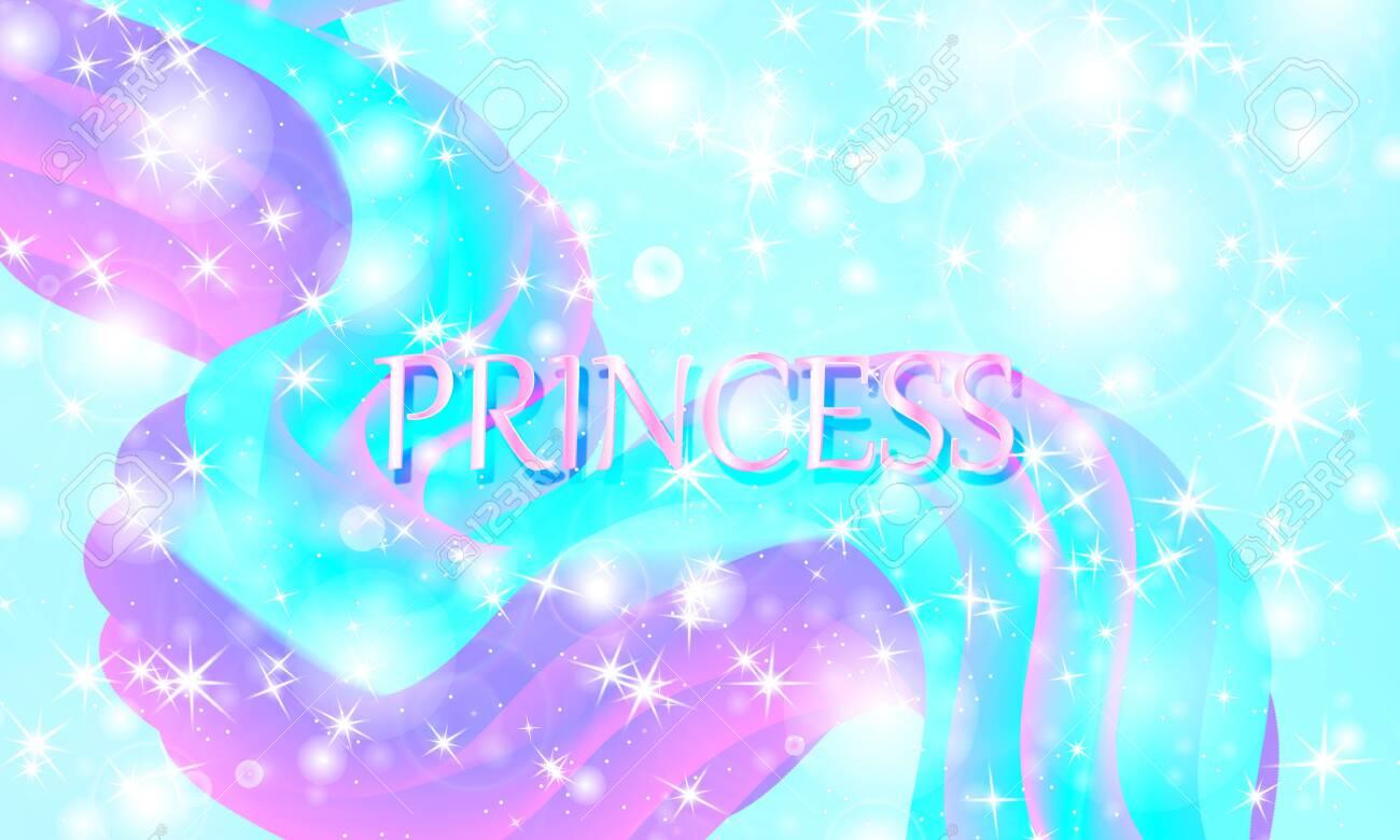 138020327 princess background mermaid rainbow magic stars unicorn pattern fantasy galaxy fairytale princess co