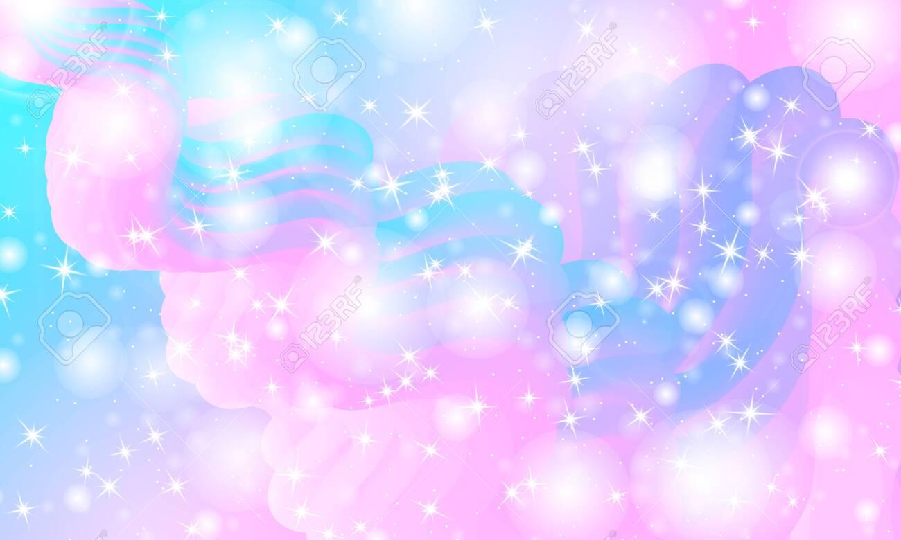 140701551 princess background mermaid rainbow magic stars unicorn pattern fantasy galaxy fairytale princess co