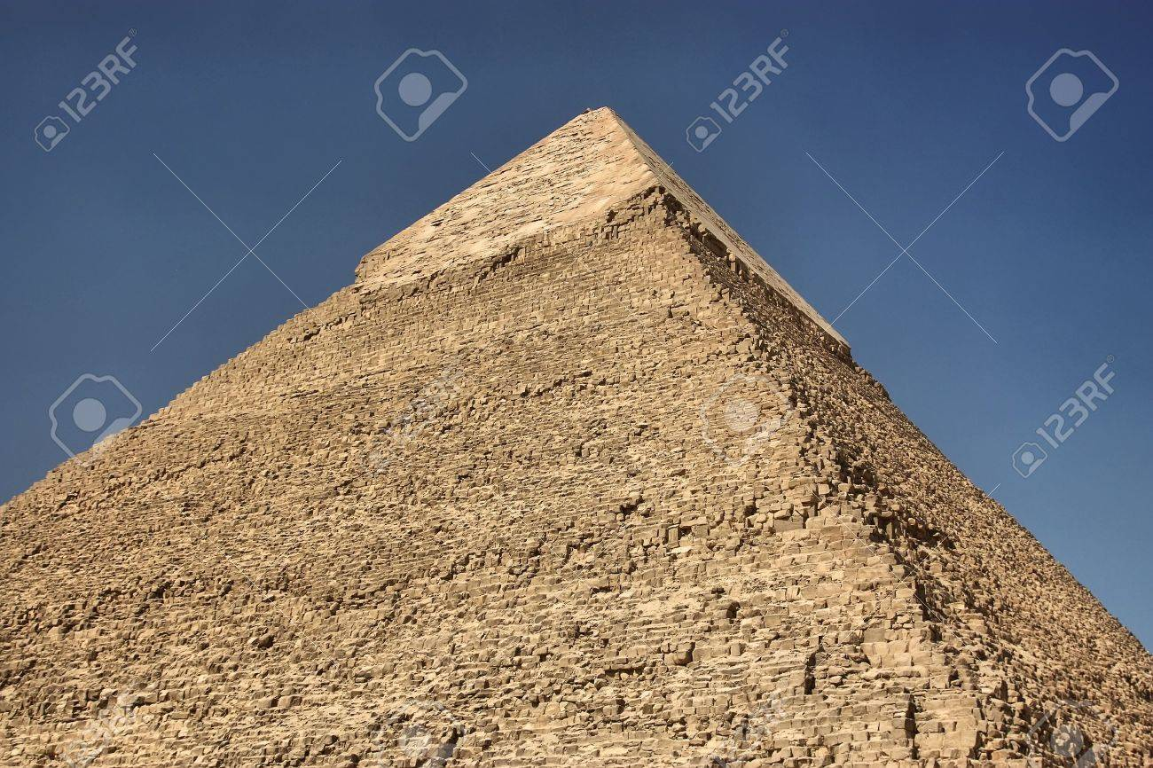The Great Pyramid in Giza Egypt Africa Stock Photo - 12471108