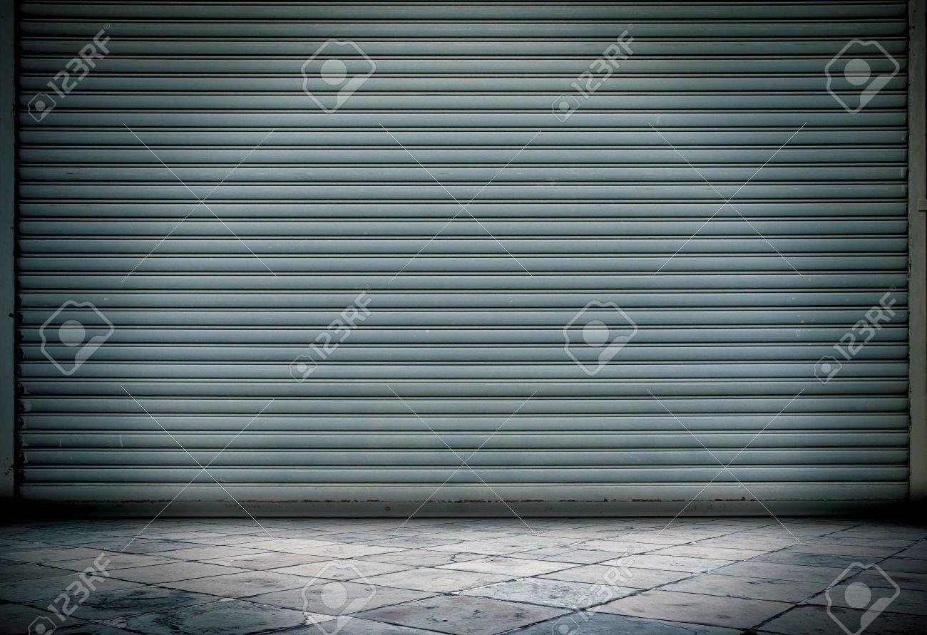Grunge room metal line stone Stock Photo - 10294006