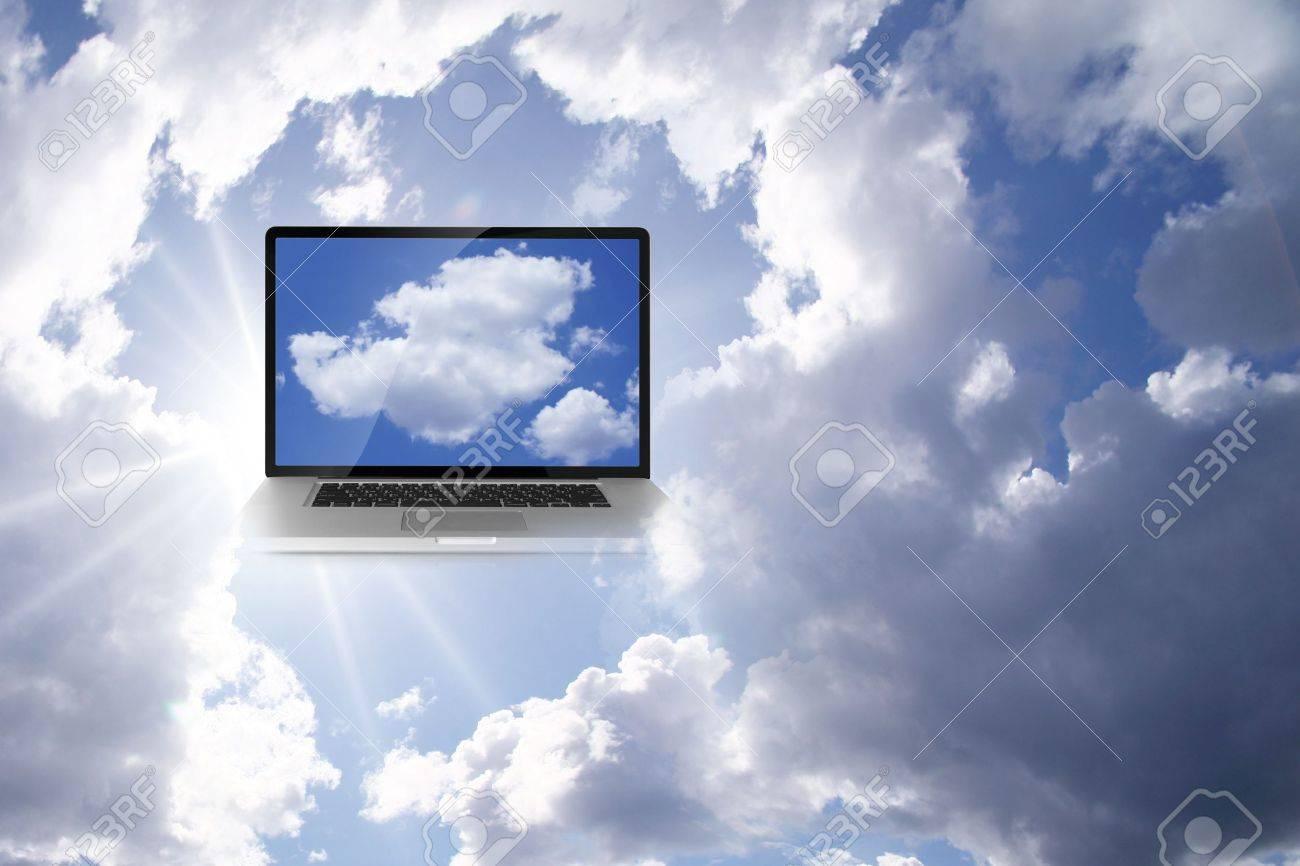 A Cloud Computing Technology Concept Stock Photo - 10366948