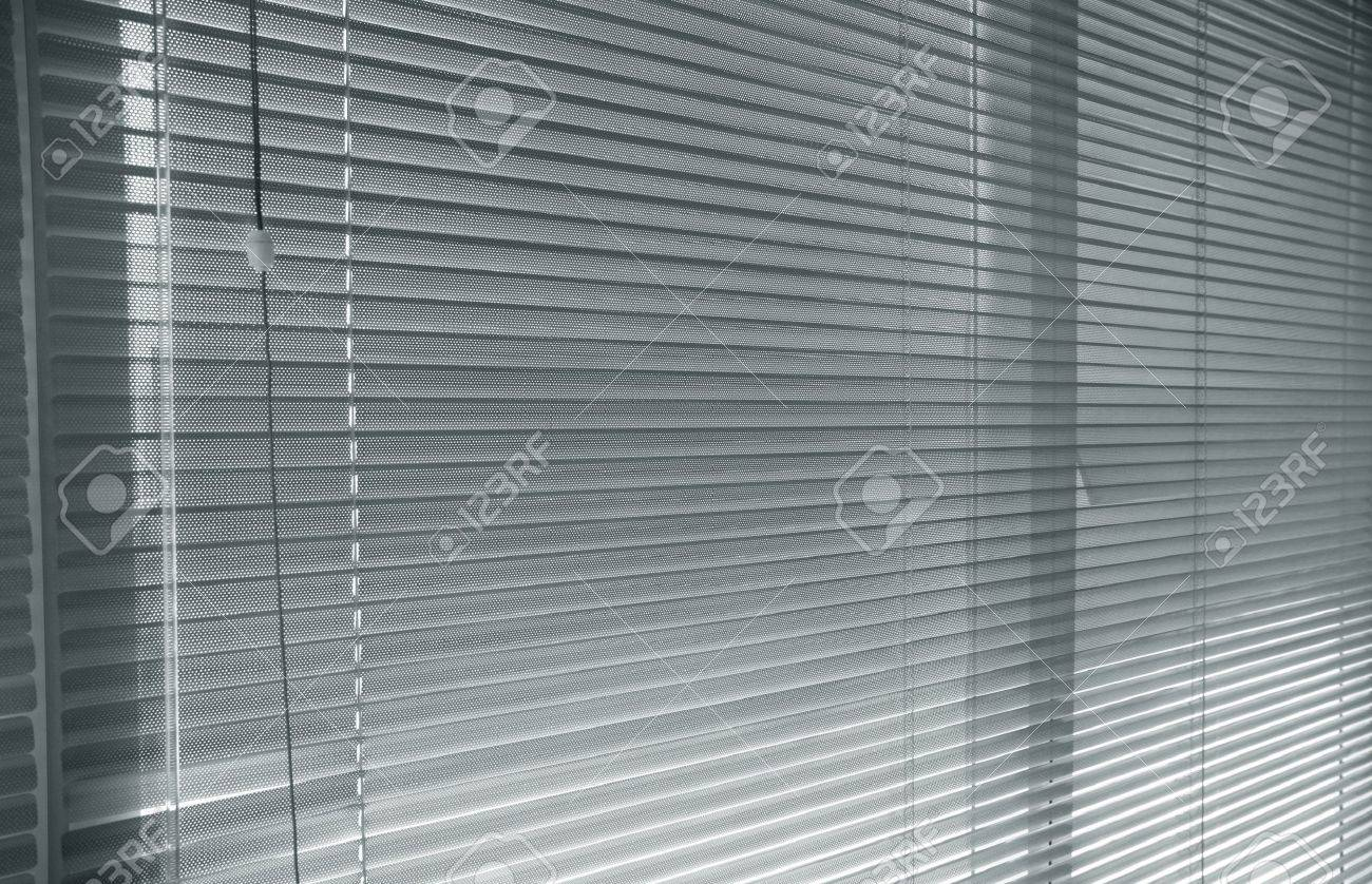 close-up modern aluminium  Shutter Blinds Stock Photo - 11540334