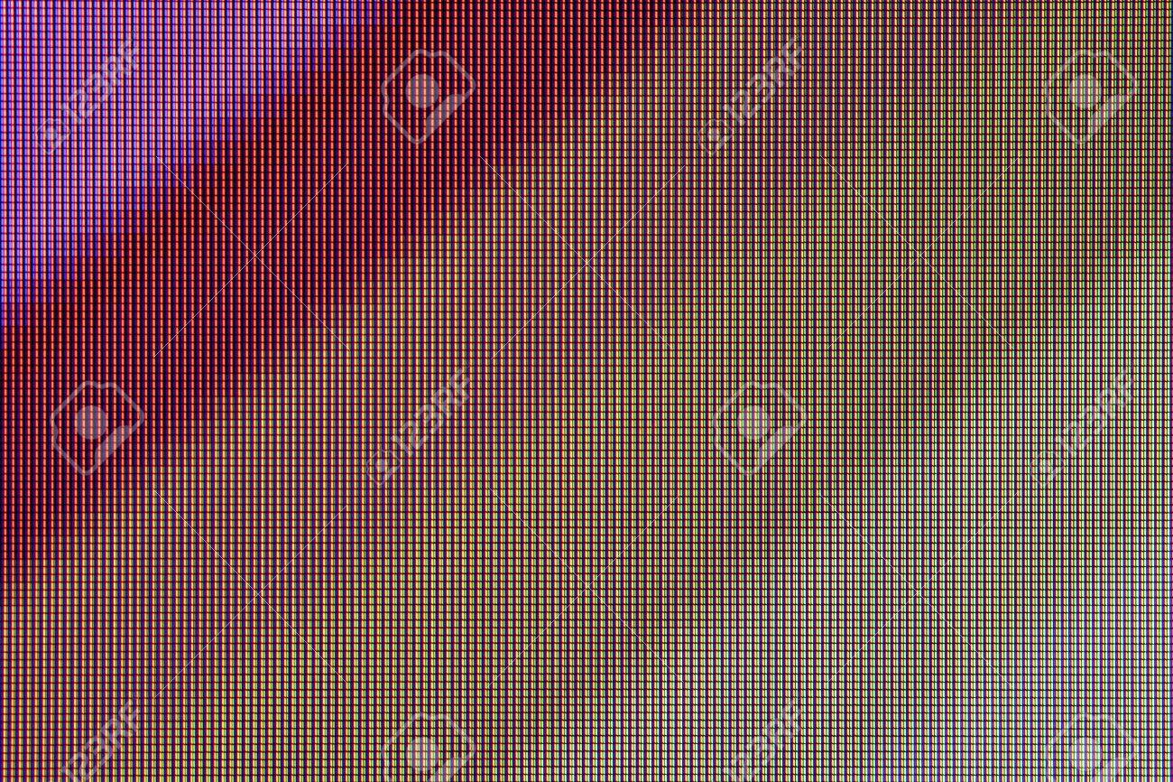 Led Screen Pattern Abstract Led Screen Texture