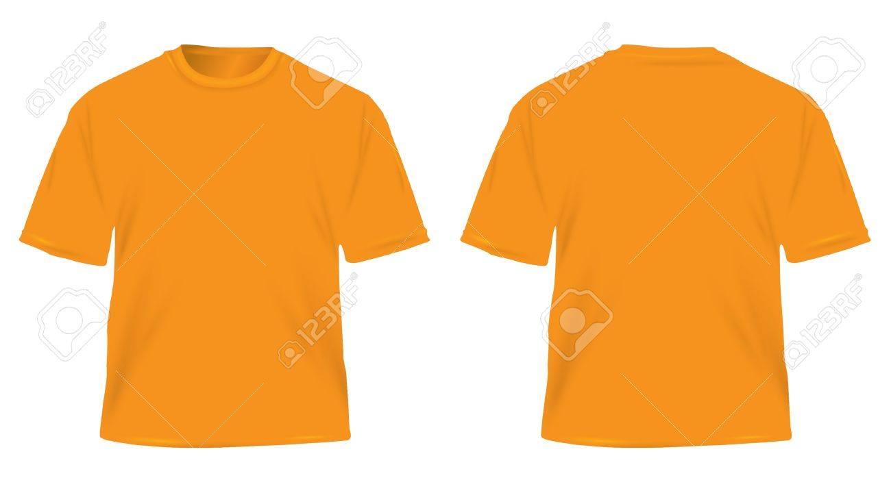 orange men Stock Vector - 20984884