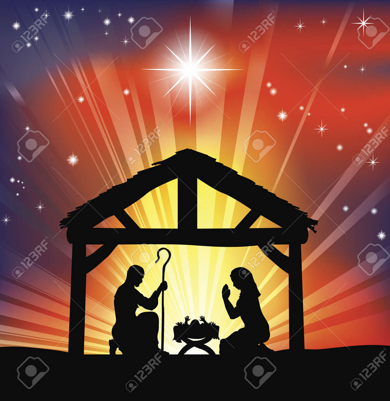 Christmas Nativity Stock Images, Royalty-Free Images &amp- Vectors ...