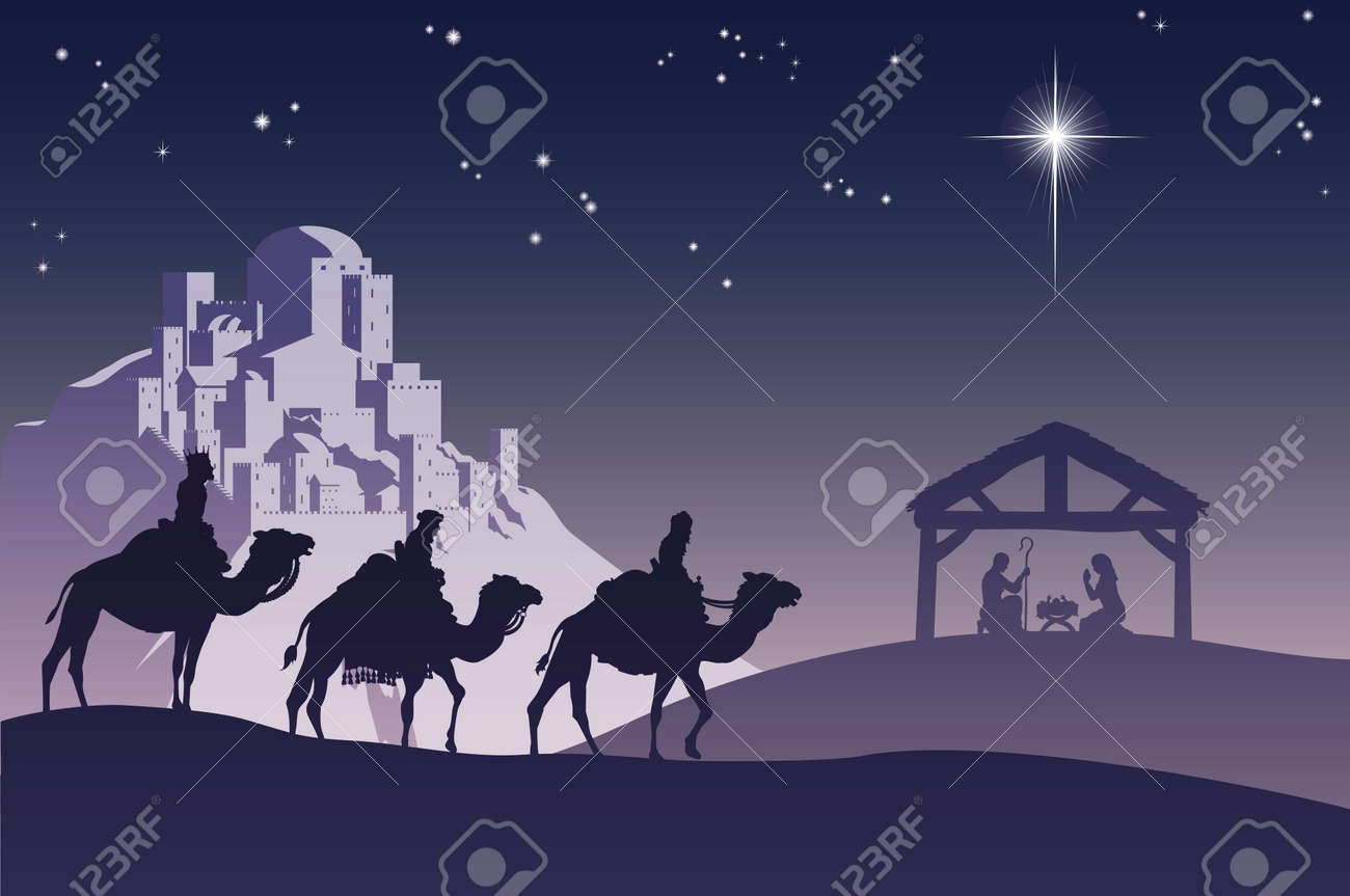 8,324 Christmas Nativity Cliparts, Stock Vector And Royalty Free ...