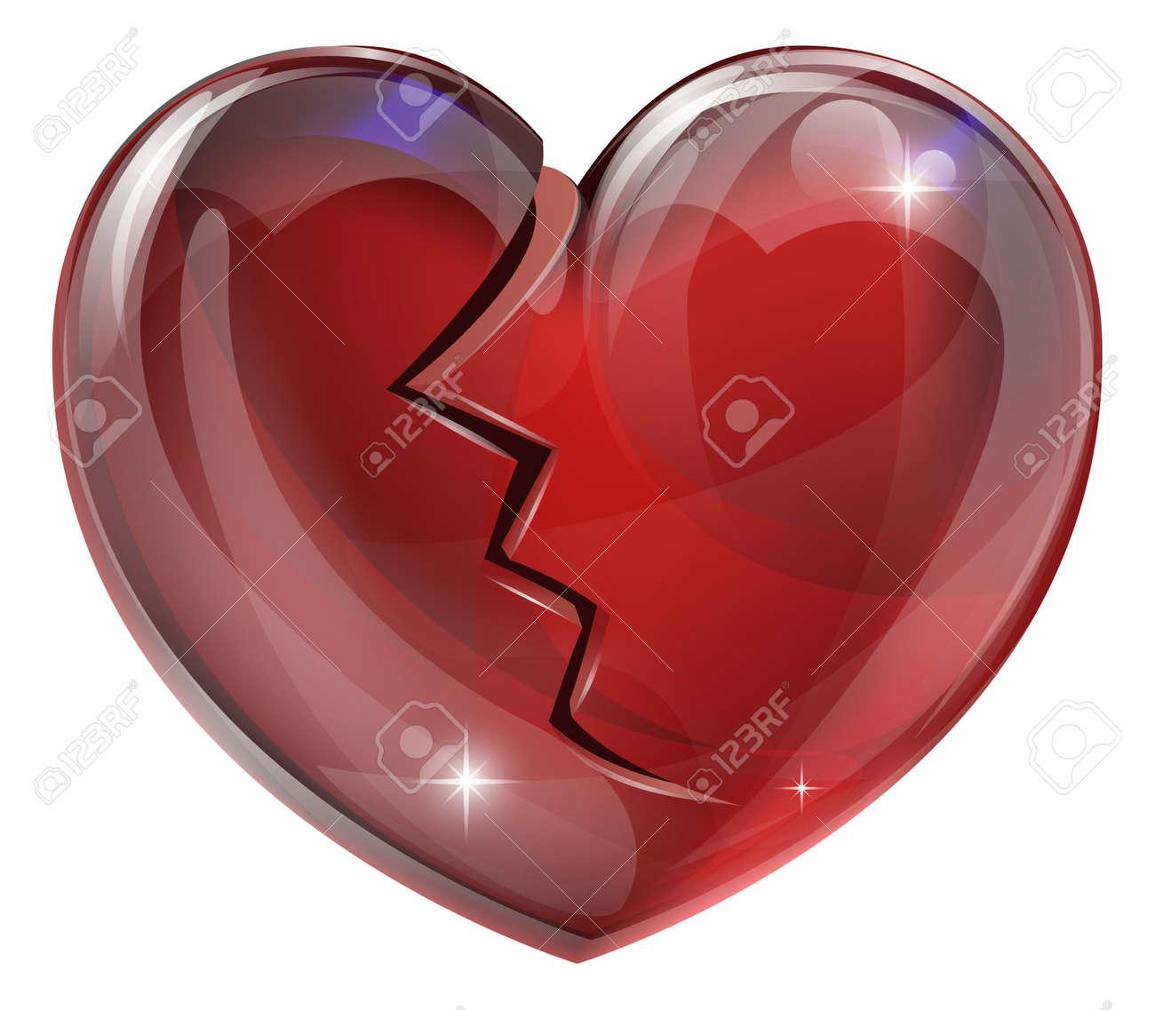 6,874 Broken Heart Cliparts, Stock Vector And Royalty Free Broken ...