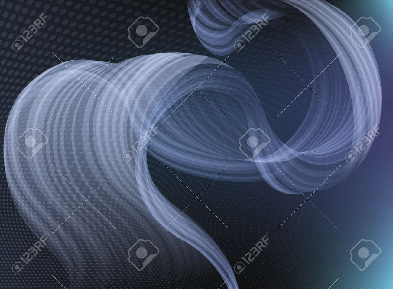 An abstract background featuring an abstract smoke like shape Stock Vector - 12808881