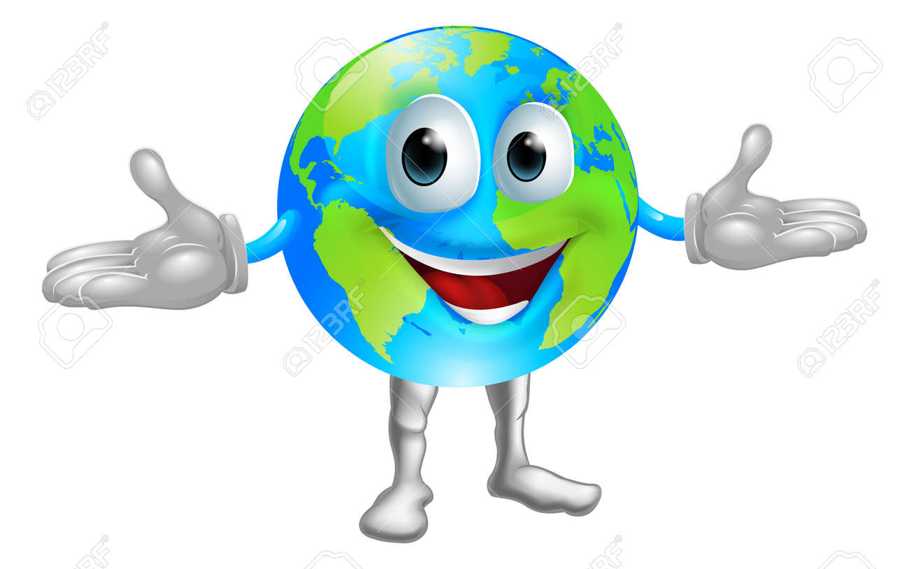 Illustration Of A Happy World ...
