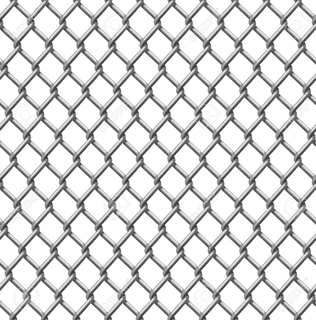 Ein Beispiel Für Eine Nahtlos Tillable Maschendrahtzaun Muster ...
