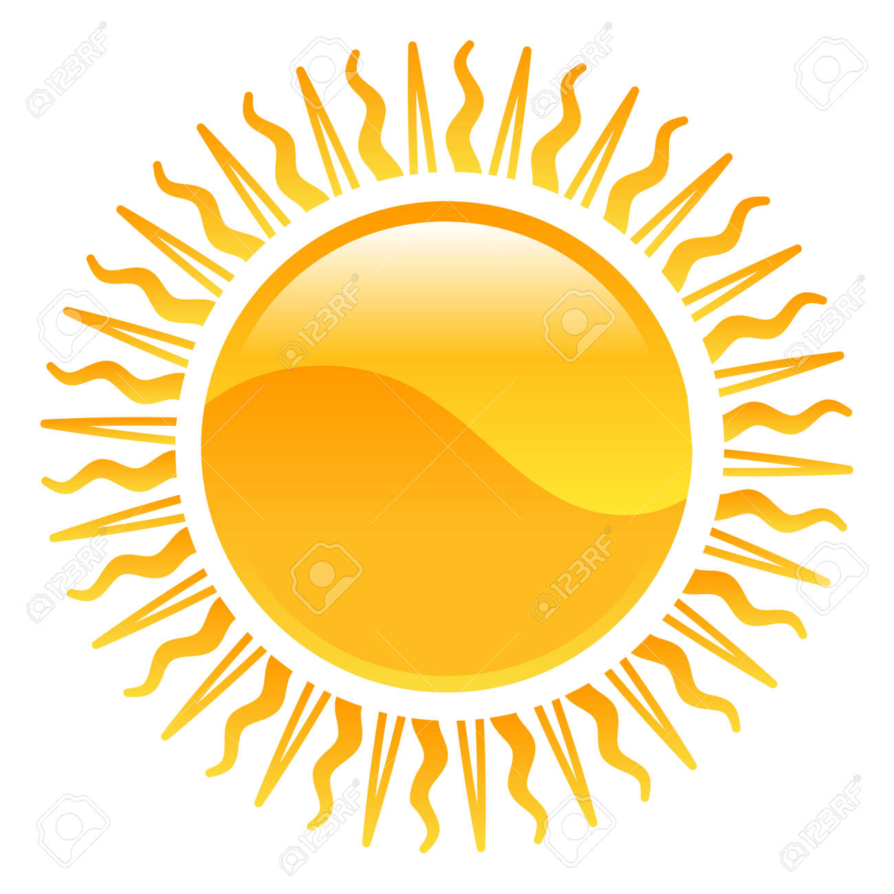 Weather Icon Clipart Sun Illustration Royalty Free Cliparts Vectors And Stock Illustration Image 21683605