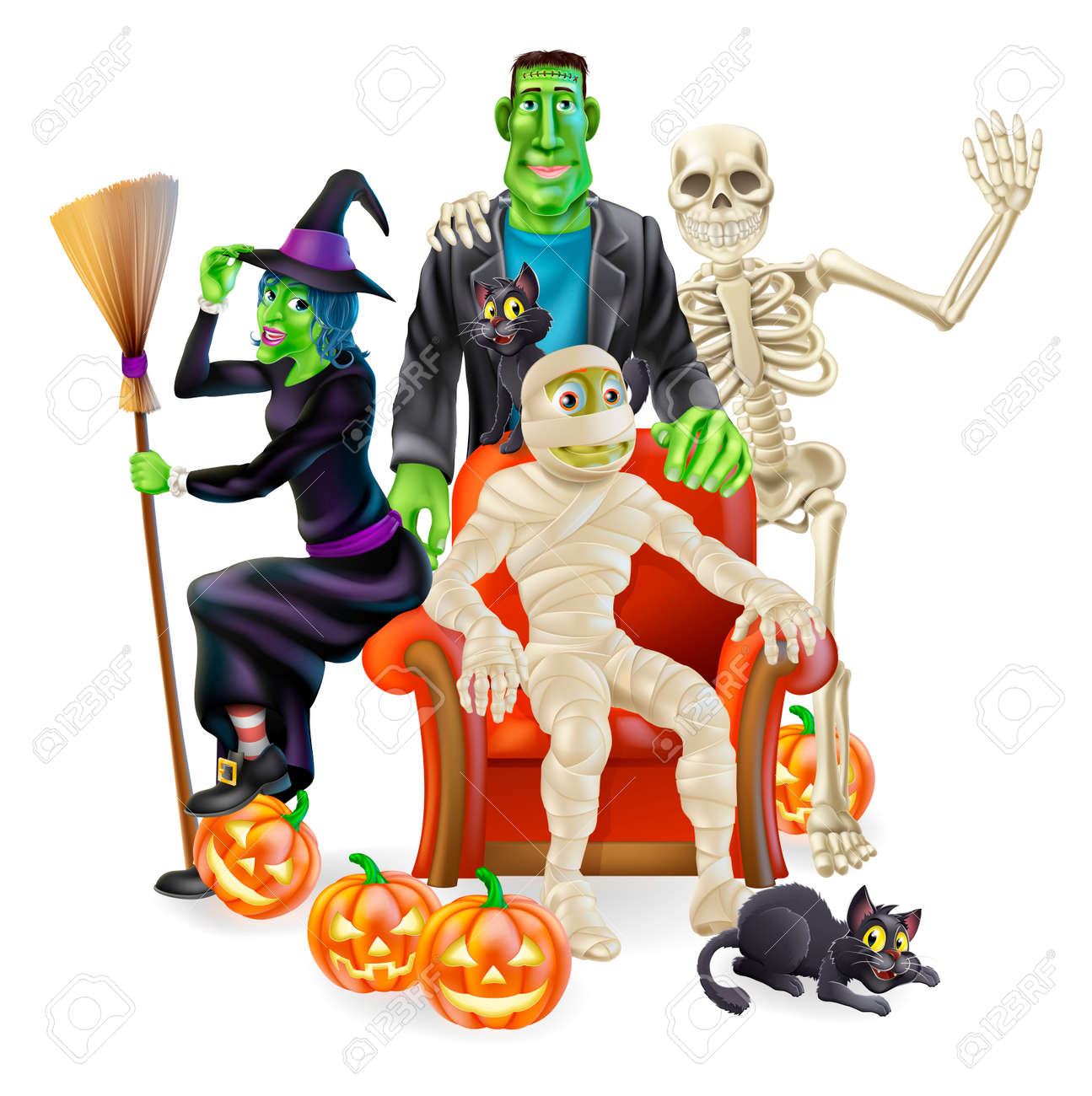 Halloween Monster Images & Stock Pictures. Royalty Free Halloween ...