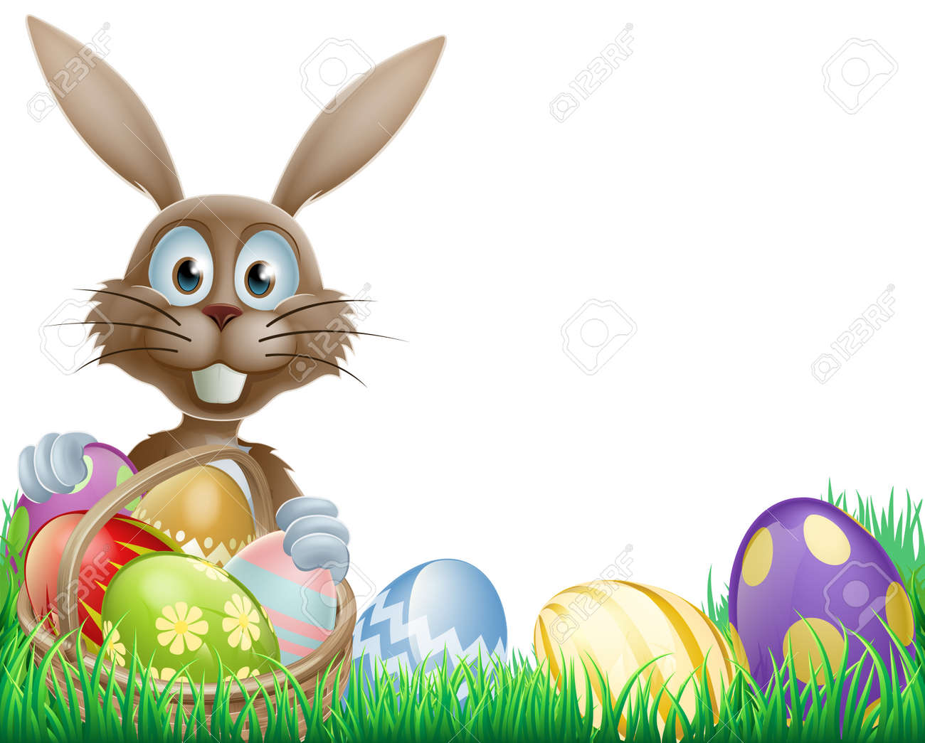 48 112 easter bunny stock vector illustration and royalty free