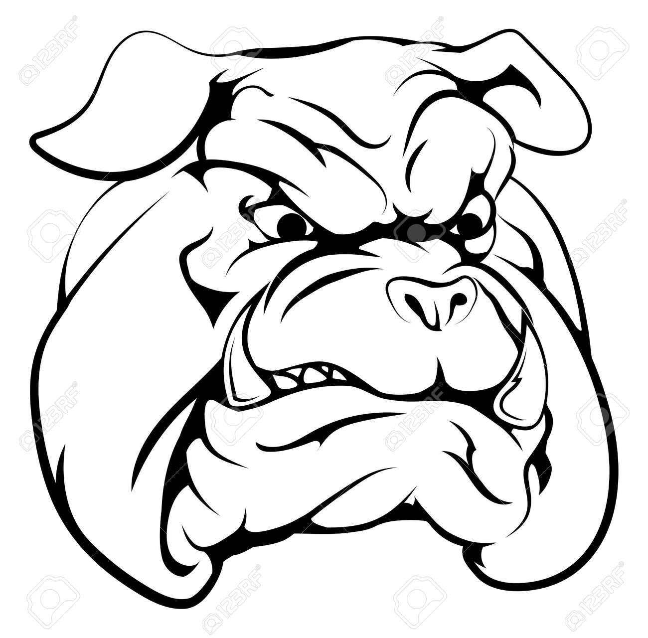 11 198 bulldog stock vector illustration and royalty free bulldog rh 123rf com free printable bulldog clipart free bulldog clipart images