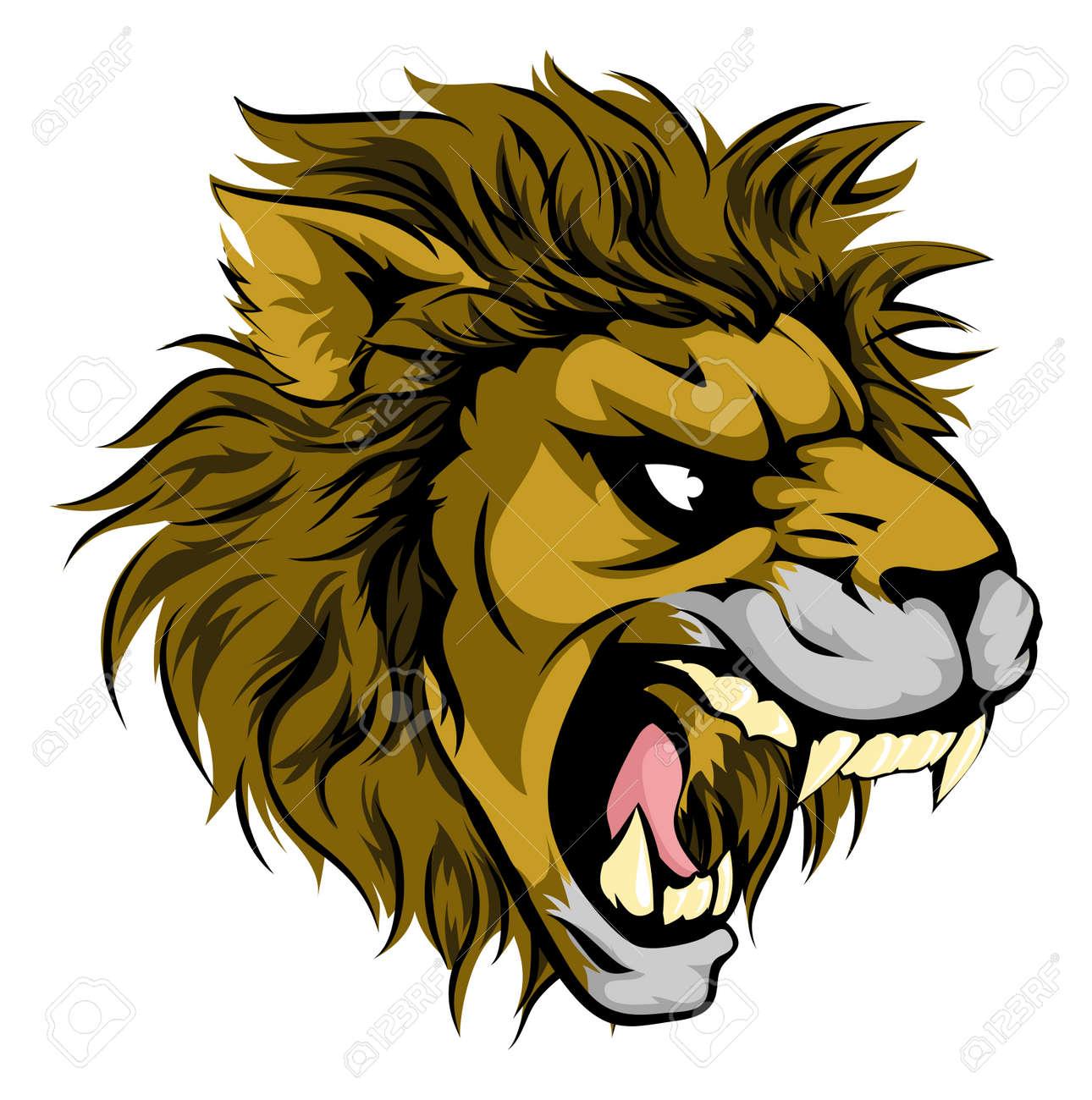 Majestic Lion Hand Painted Elements Lion King   Painting, Lion, Graphic  design background templates