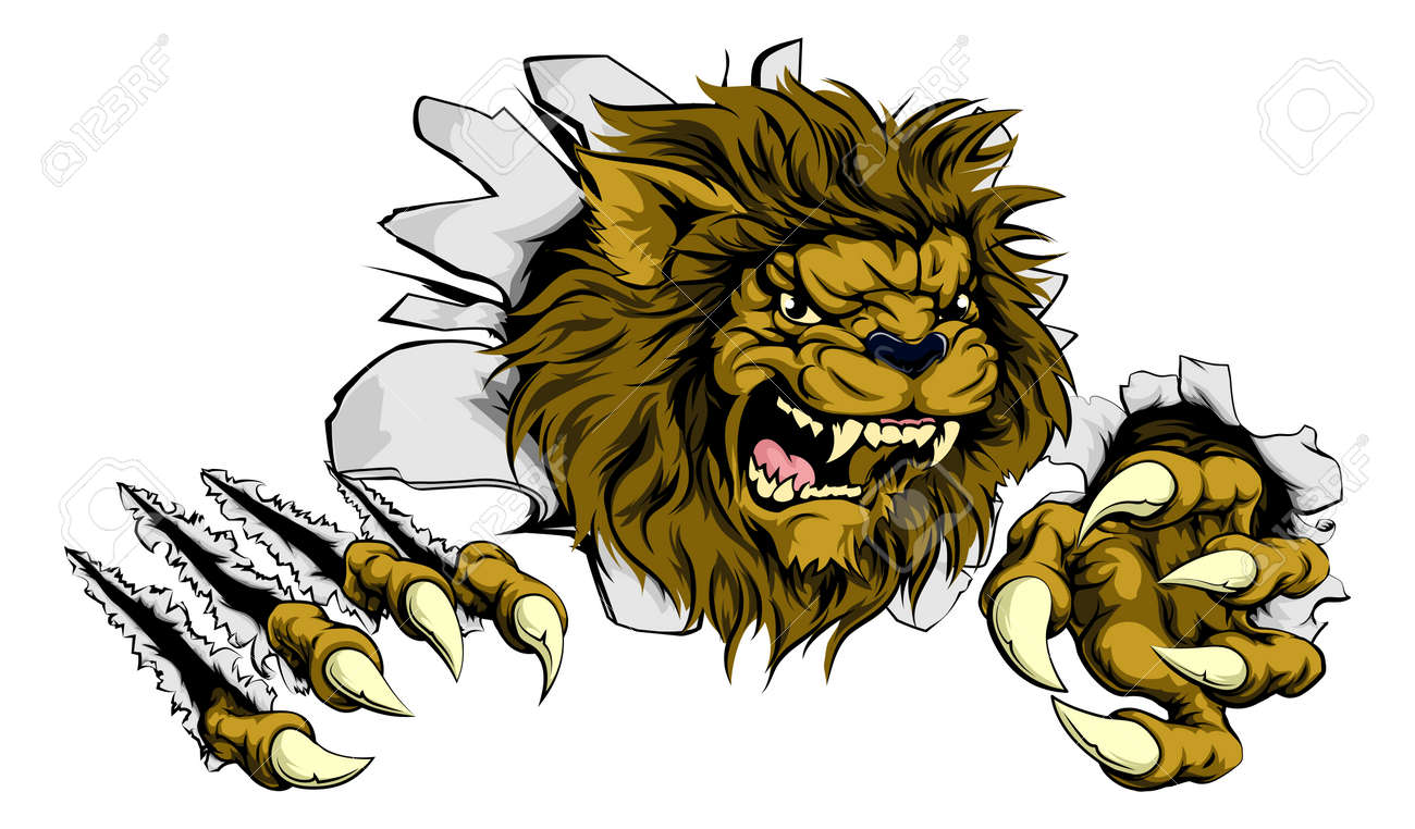 Angry Lion Stock Photos. Royalty Free Angry Lion Images for Lion Face Animation  173lyp