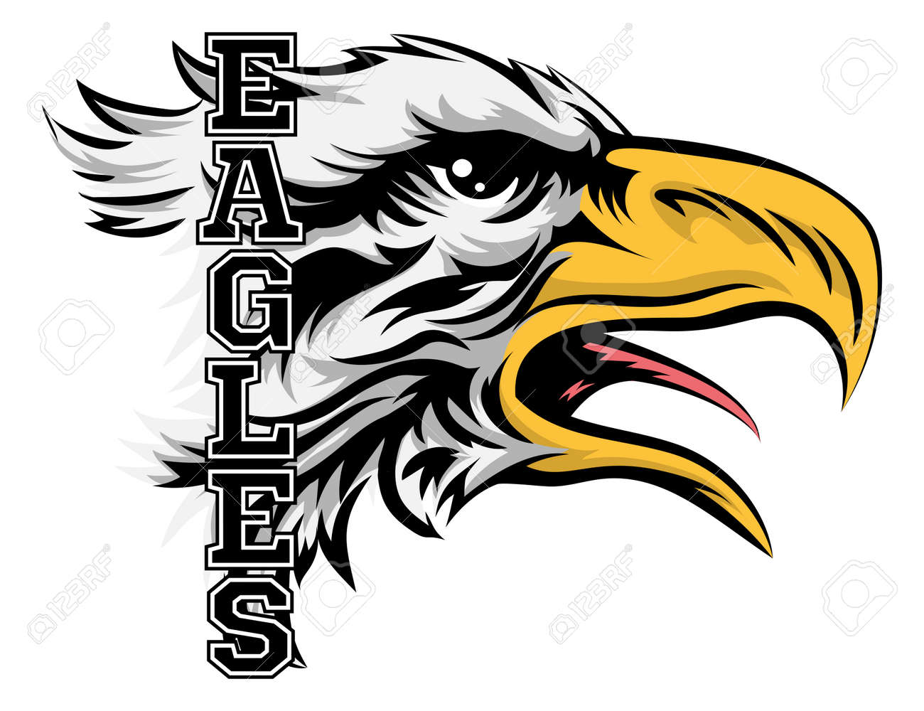 38 522 eagle stock vector illustration and royalty free eagle clipart rh 123rf com eagles clipart eagle clip art pictures