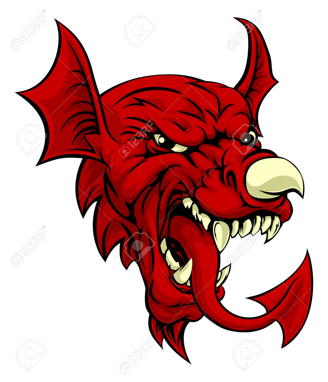1526 welsh dragon stock vector illustration and royalty free an illustration of the welsh national symbol of the red dragon y ddraig goch with the biocorpaavc Image collections