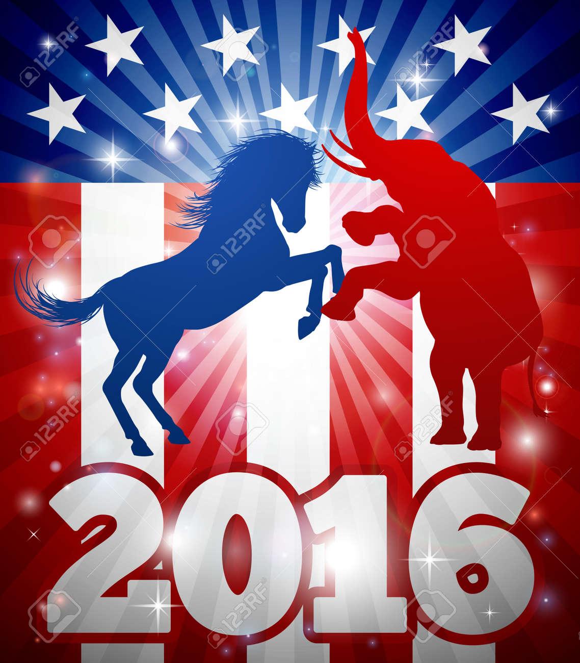 2016 Presidential Debate Clip Art