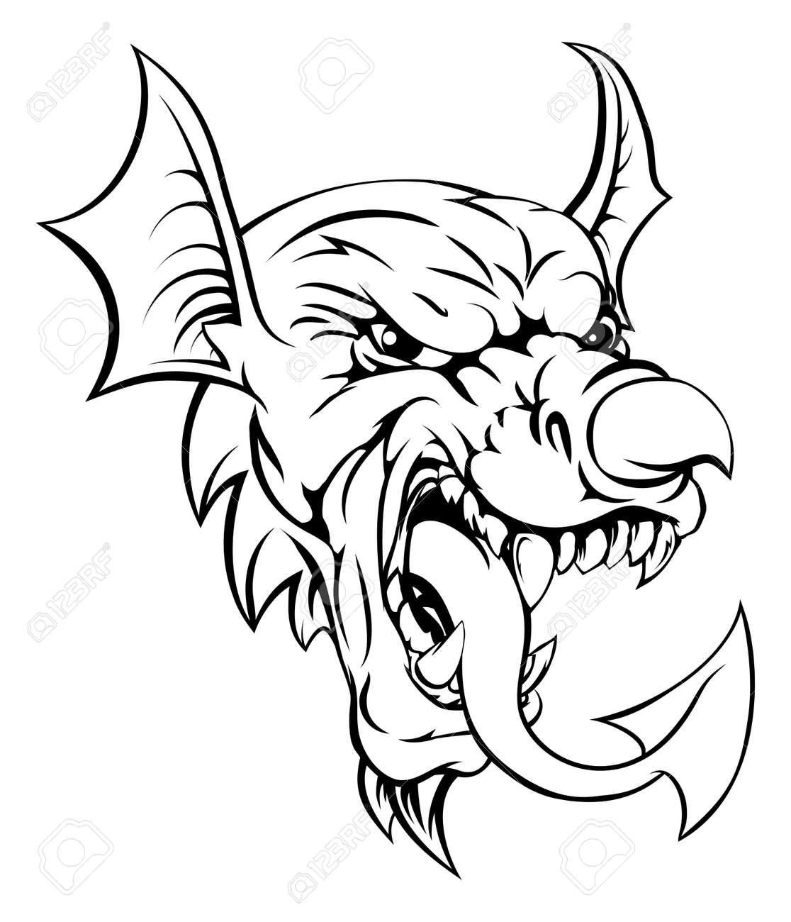 The welsh red dragon y ddraig goch the national animal of wales the welsh red dragon y ddraig goch the national animal of wales sports mascot buycottarizona