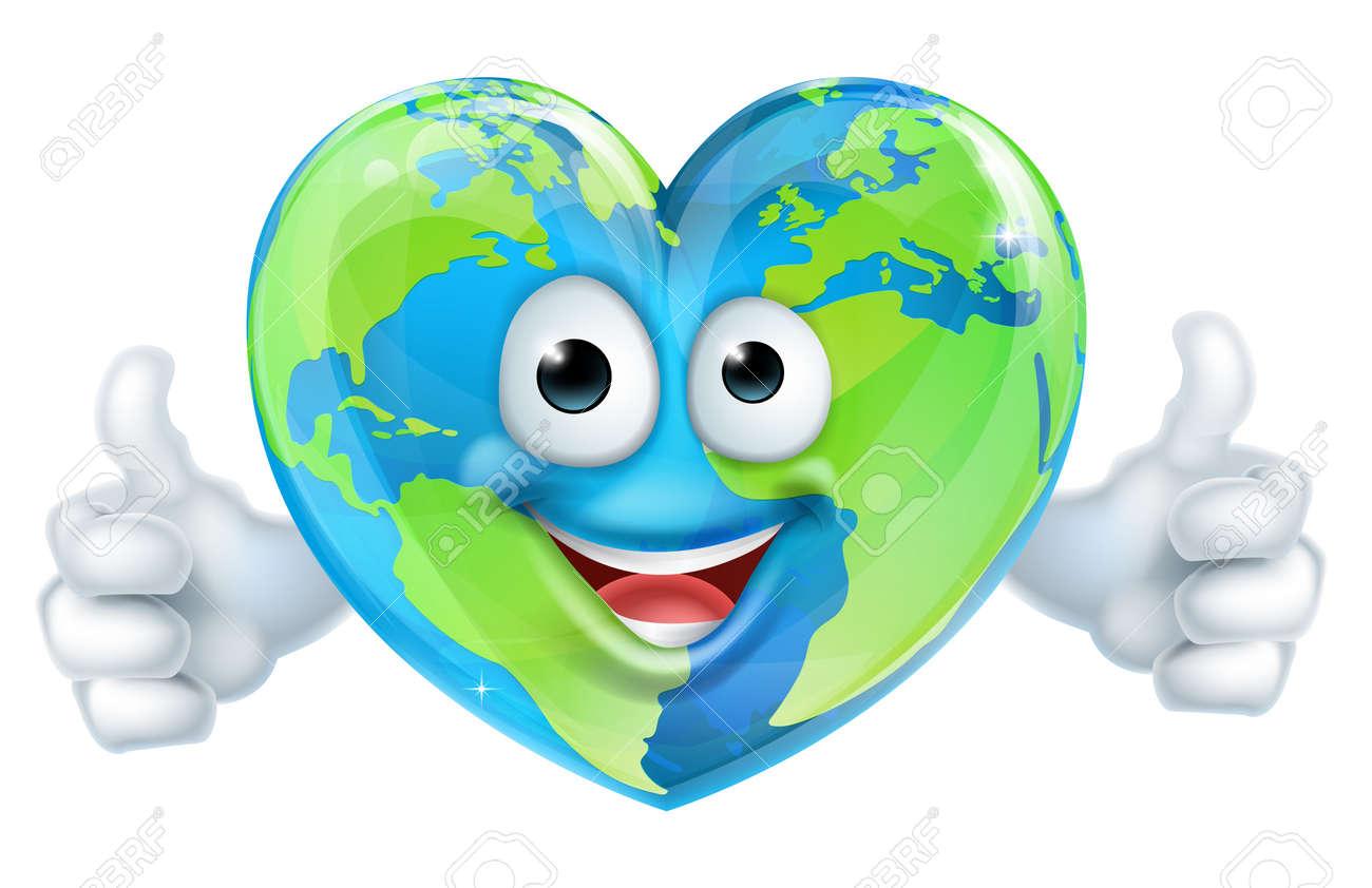A Happy World Earth Day Heart ...
