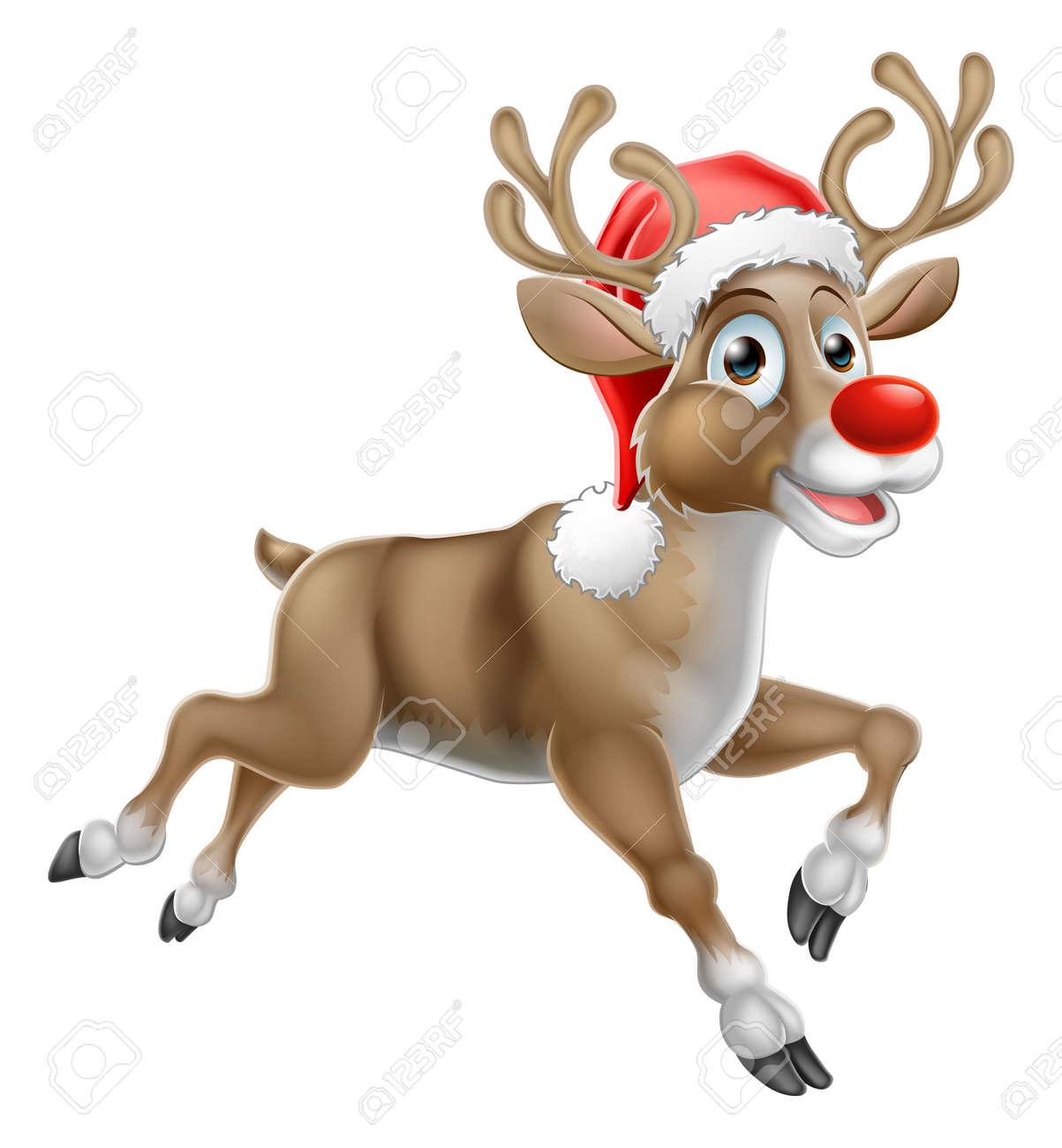 Bilder Rentiere Weihnachten.Stock Photo