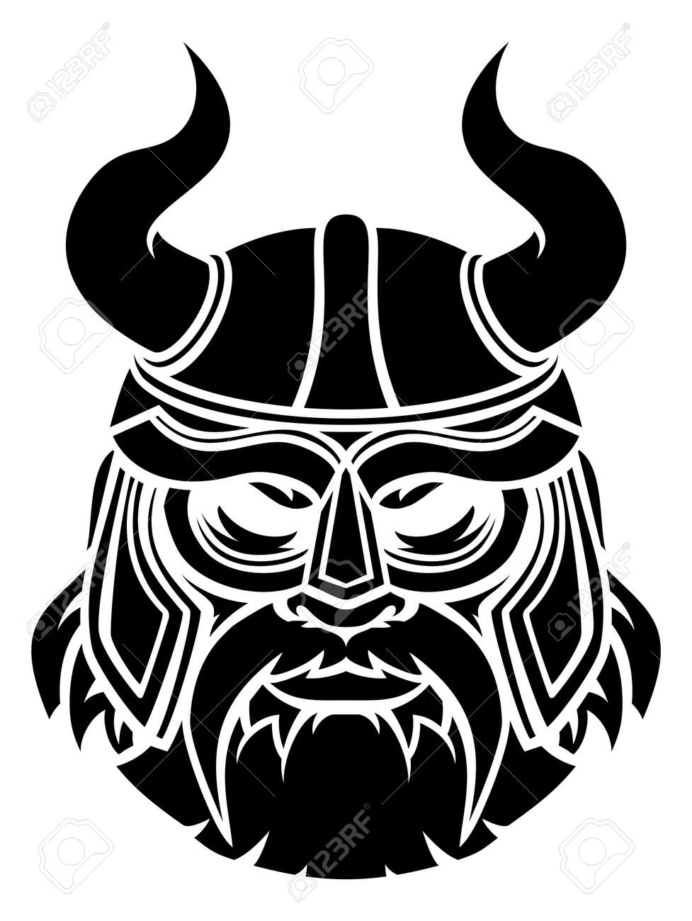 Viking Mascot - 151115775