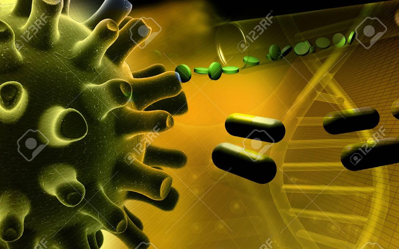 Herpes Simplex Virus Stock Photo - 4631819