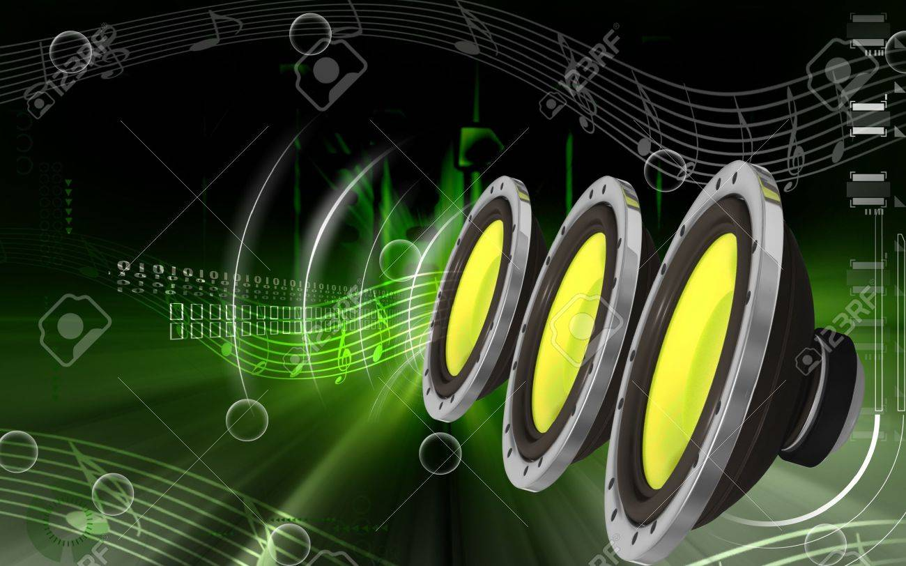 Digital Illustration Of Car Stereo In Colour Background Stock Photo Picture And Royalty Free Image Image 8856128