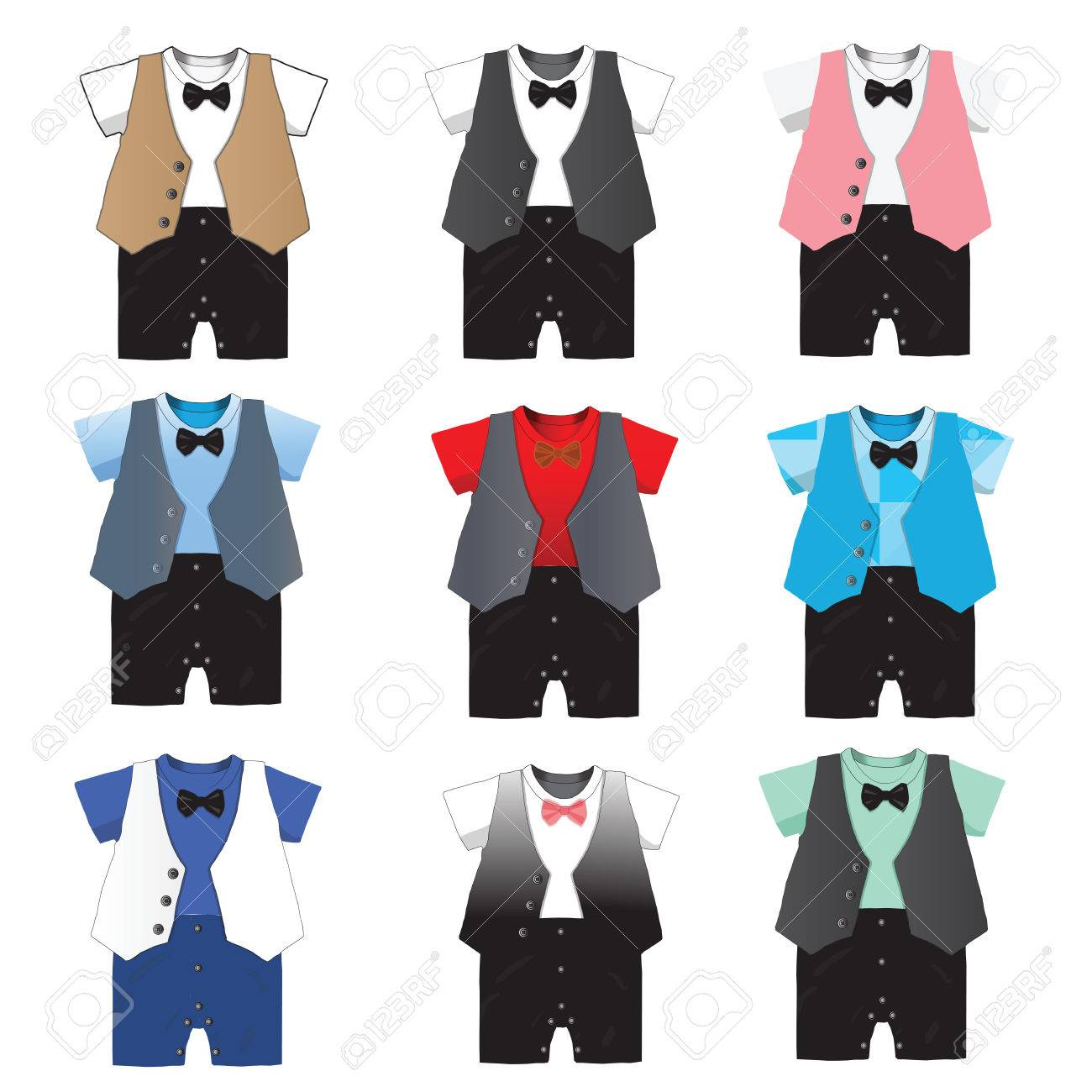 0710d9c25362 Baby Boy Formal Wear Wedding Party With Bow Tie