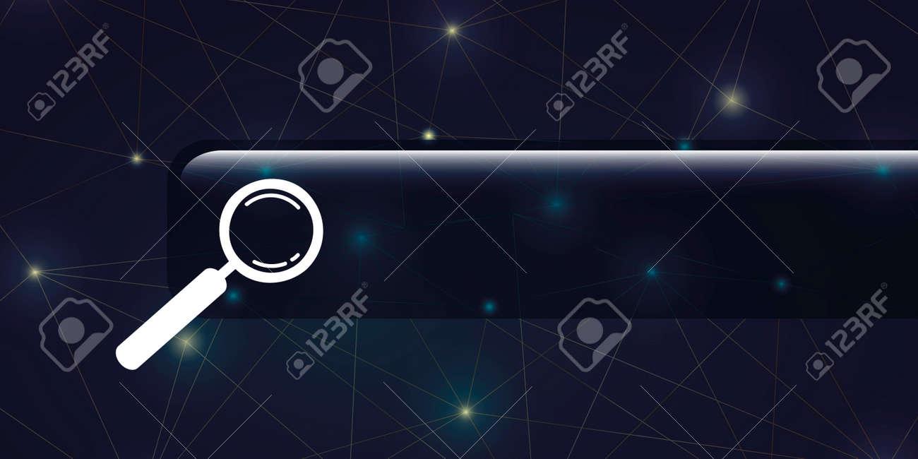 internet search digital global network blue background - 171638720