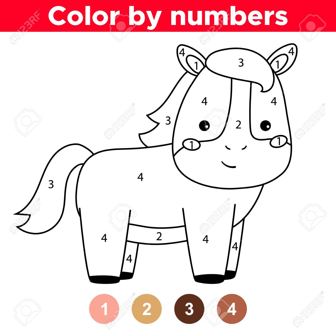 Free Printable Horse Coloring Pages For Kids | 1300x1300