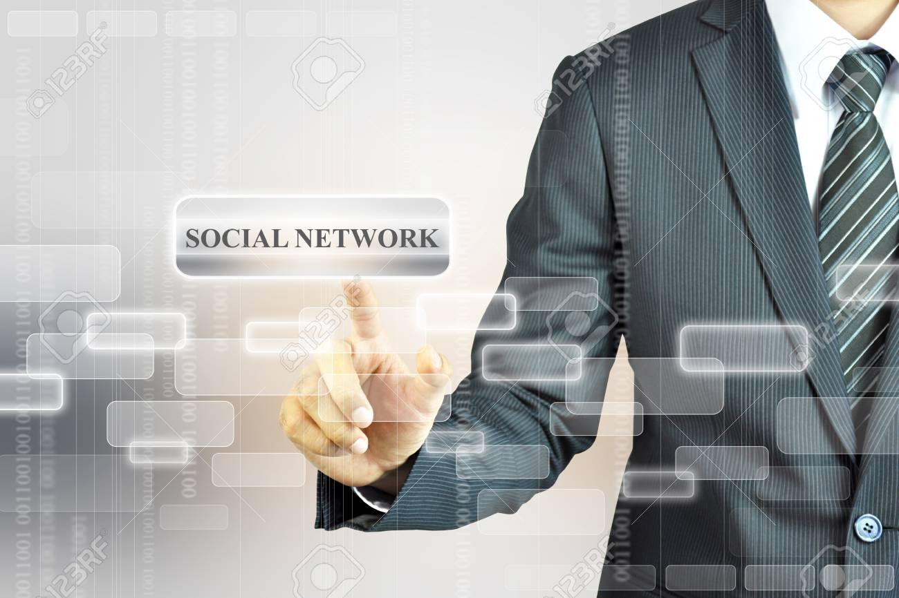 Social Network sign Stock Photo - 17511343