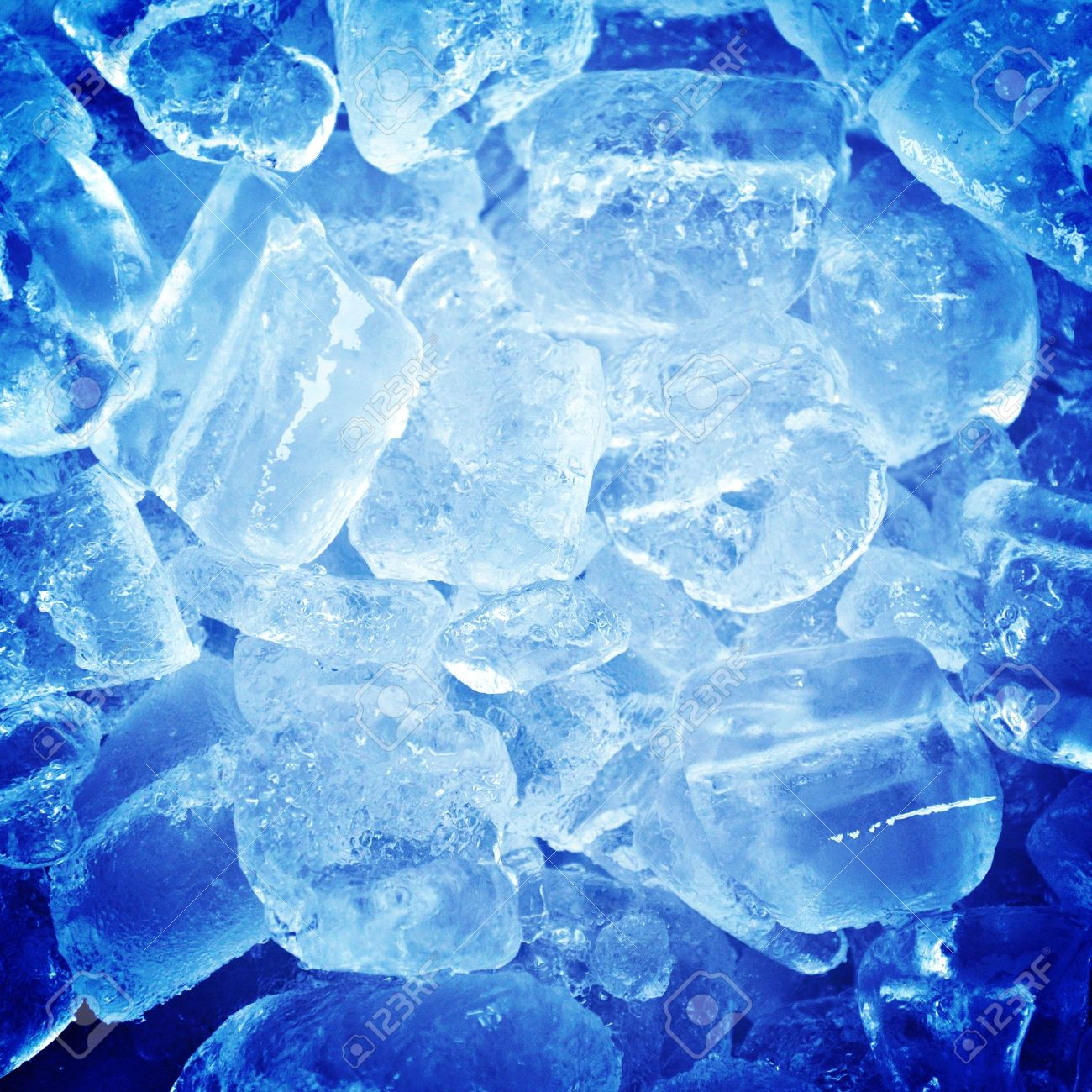 Blue ice abstract background Stock Photo - 18027860