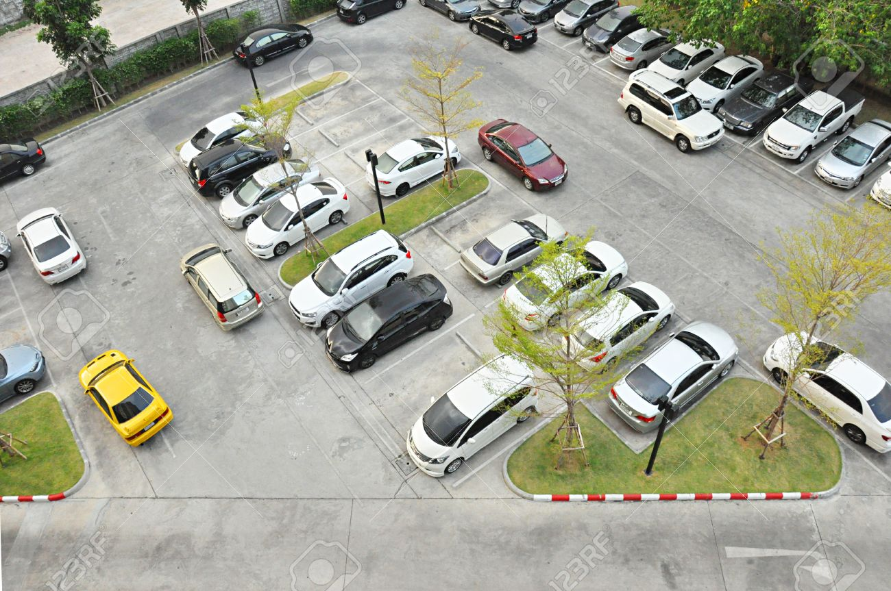 Car Park Top View Stock Photo Picture And Royalty Free Image Image 19918060