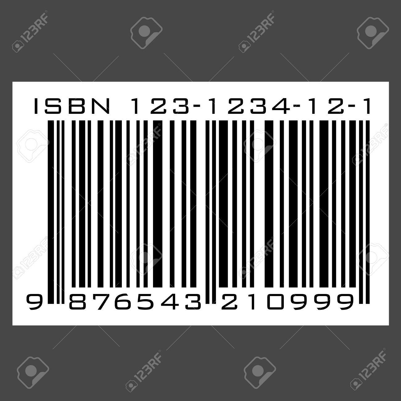ISBN barcode - vector