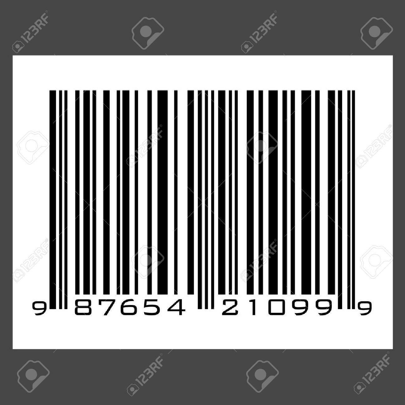 UPC barcode - vector