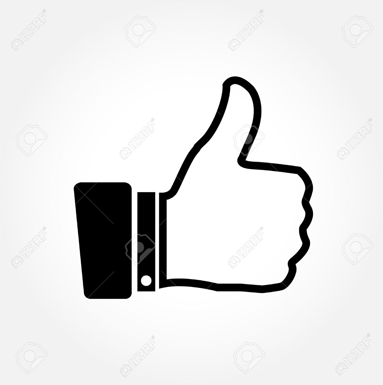 thumbs up vector icon on white background royalty free cliparts rh 123rf com thumbs up vector icon thumbs up vector free