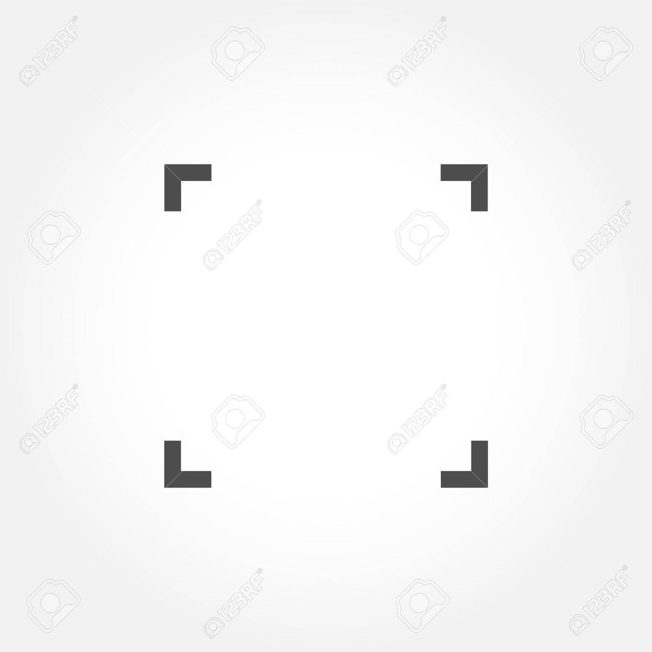 Empty Camera Focus Frame Royalty Free Cliparts, Vectors, And Stock ...