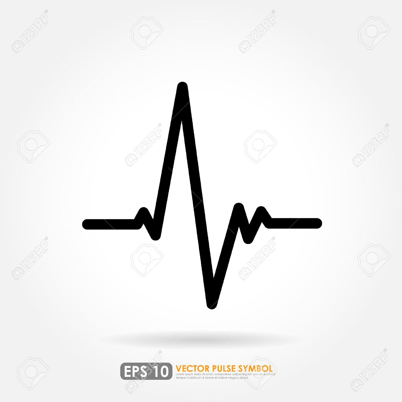 electrocardiogram ecg or ekg medical icon royalty free cliparts rh 123rf com ecg vectors vector analysis ecg