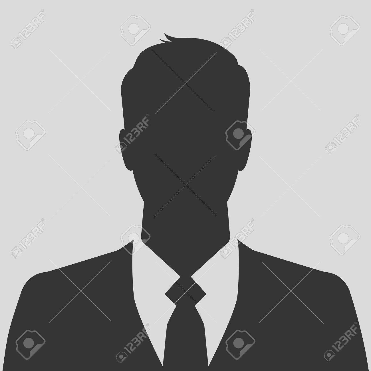 Businessman silhouette avatar profile picture - 29213190