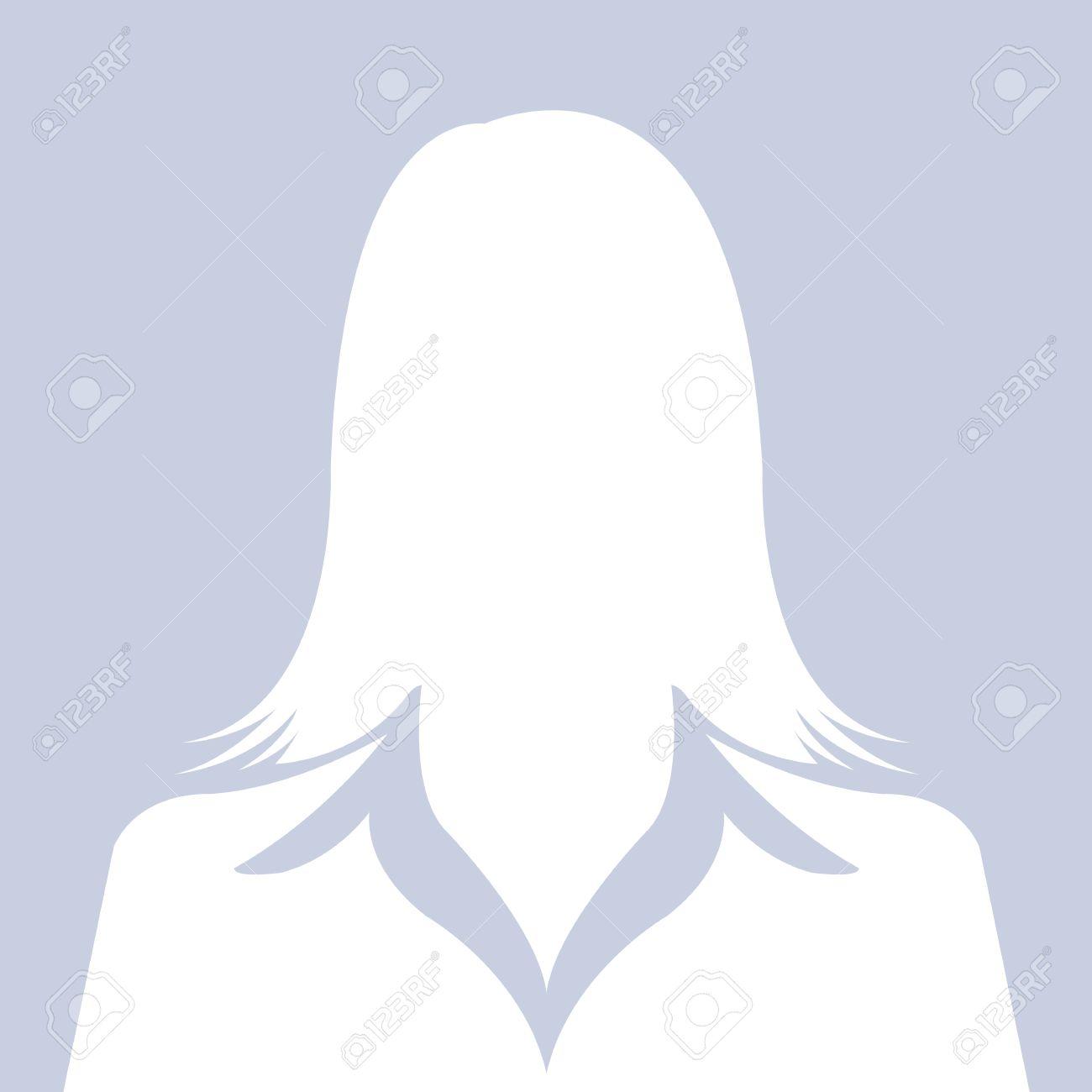 Female avatar silhouette Facebook Profile Picture Silhouette Female