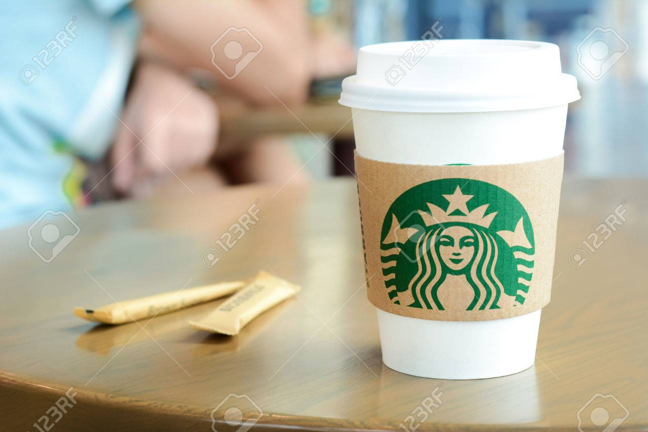 Beautiful Starbucks Paper Coffee Cup With Sugar Sachets And Ideas