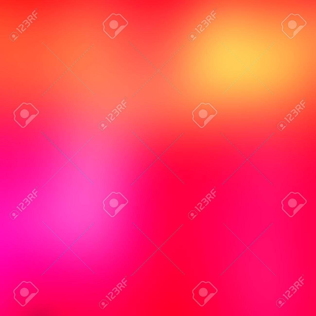 Fondo Abstracto Multicolor Degradado Con Colores Rosa Rojo Amarillo Y Naranja Calido Concepto De Fondo De Color