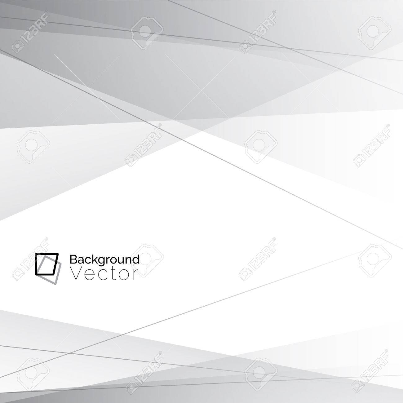 Modern white gray line abstract background - 57402538