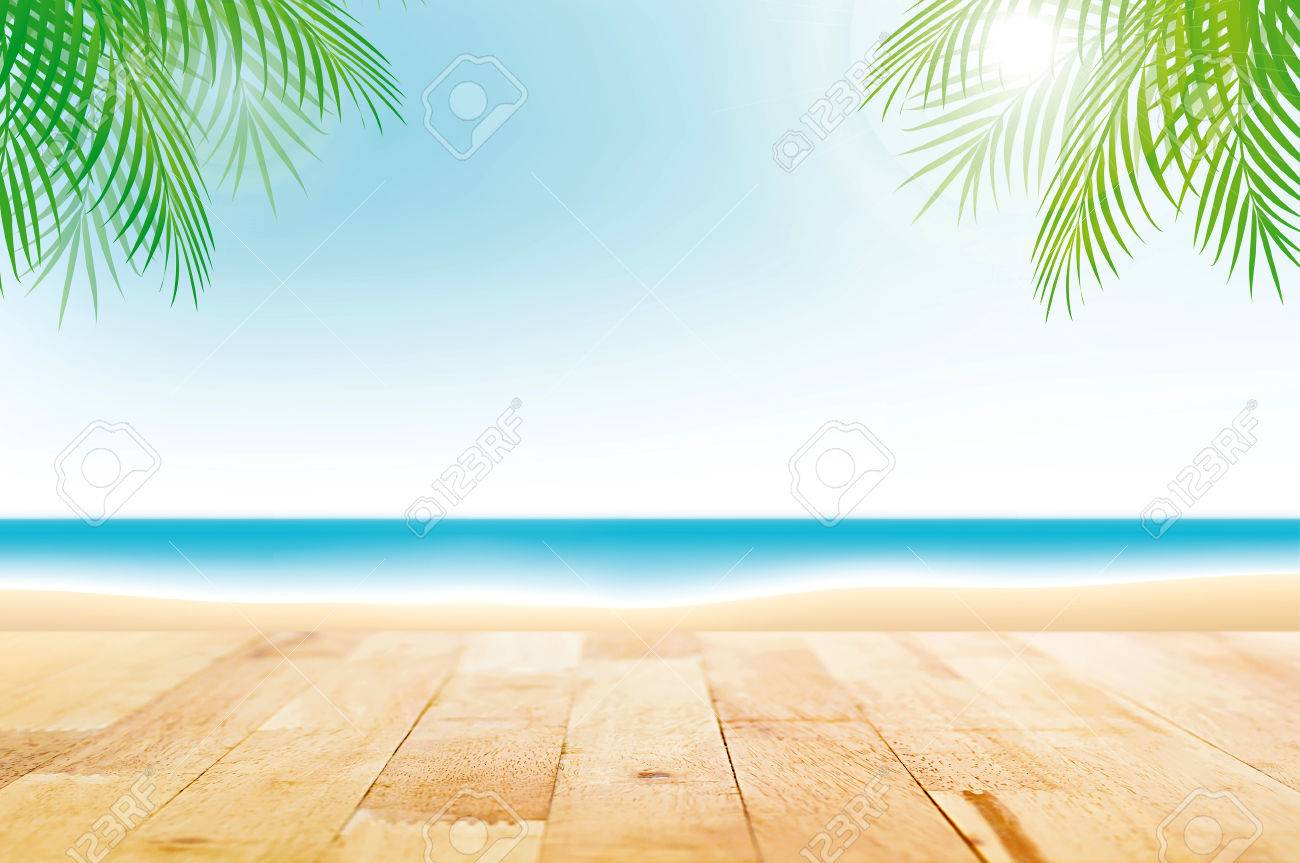 Fondo playa para fotos