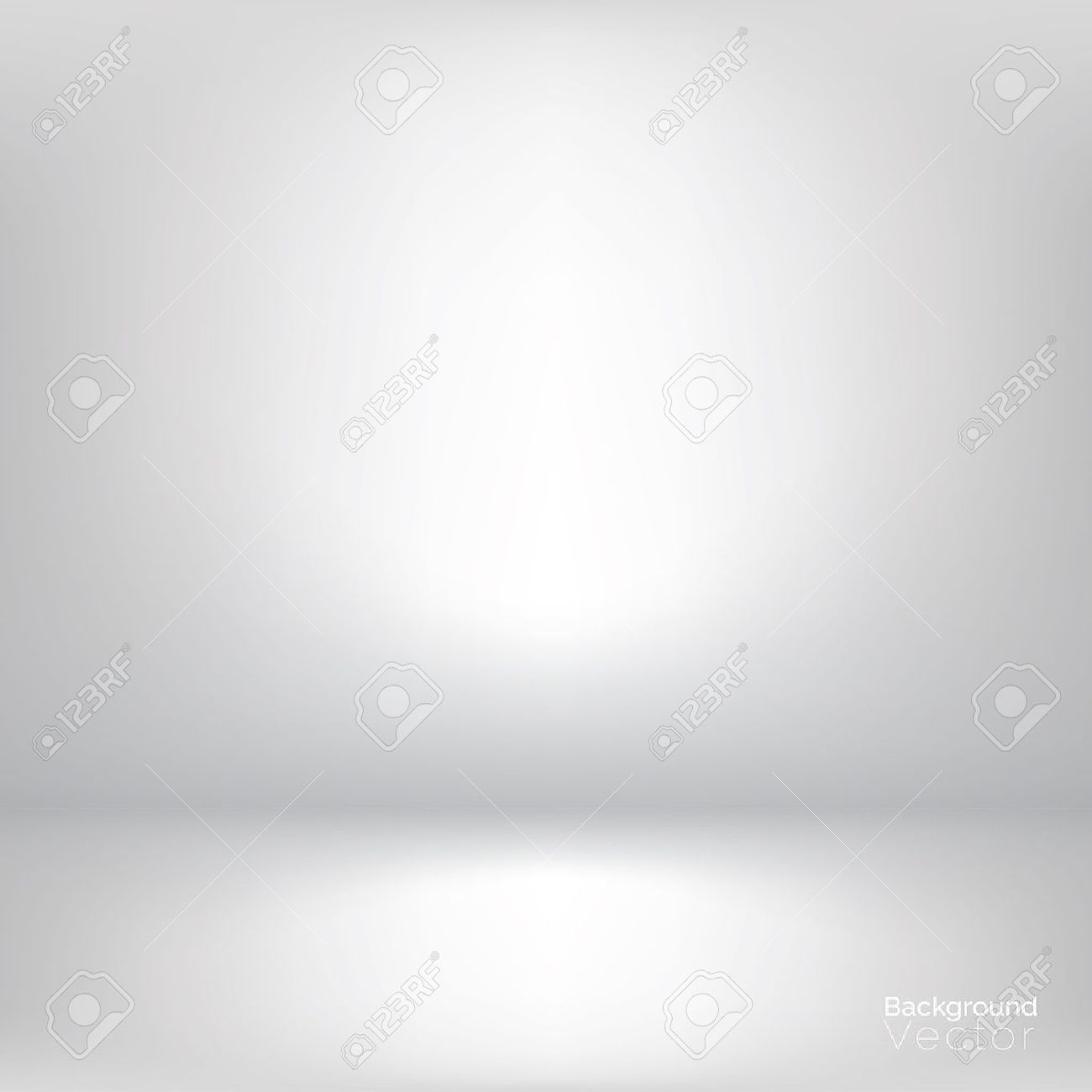 White gray gradient abstract background - 65692009