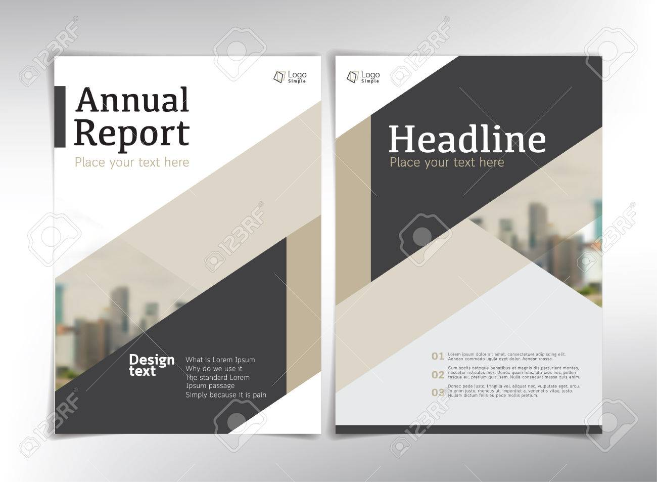 what is a report cover
