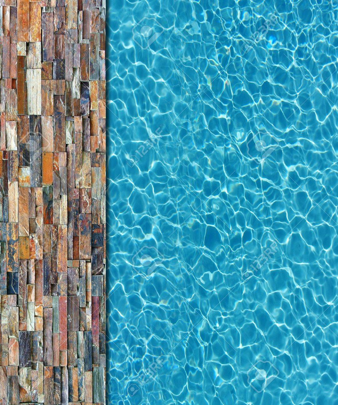 Swimming Pool Background cool water in swimming pool background stock photo, picture and