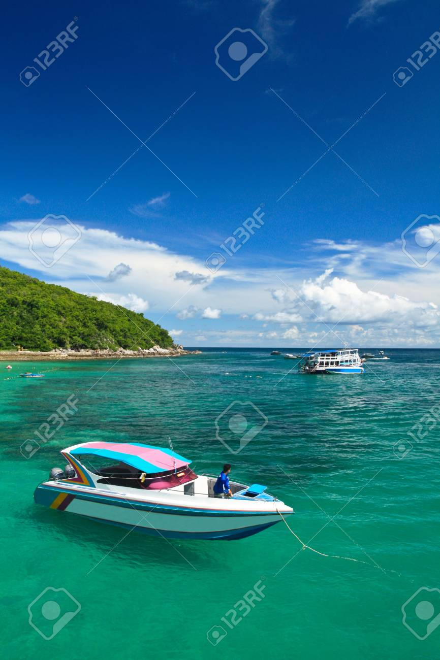 Lan Island. Thailand. Stock Photo - 7433219